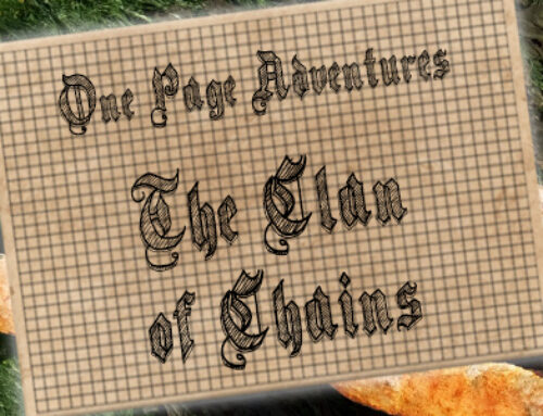 One Page Adventure: The Clan of Chains