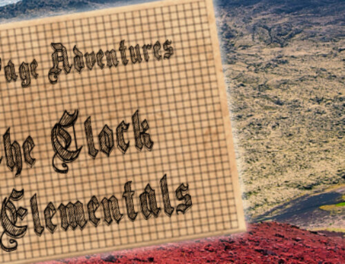 One Page Adventure: The Clock of Elementals