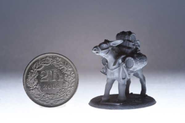 Mule Miniature 3d Print