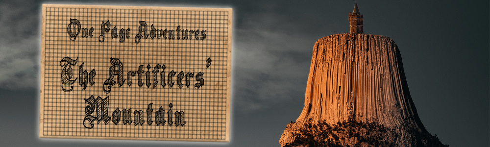 The Artificer's Mountain OPA10 Banner